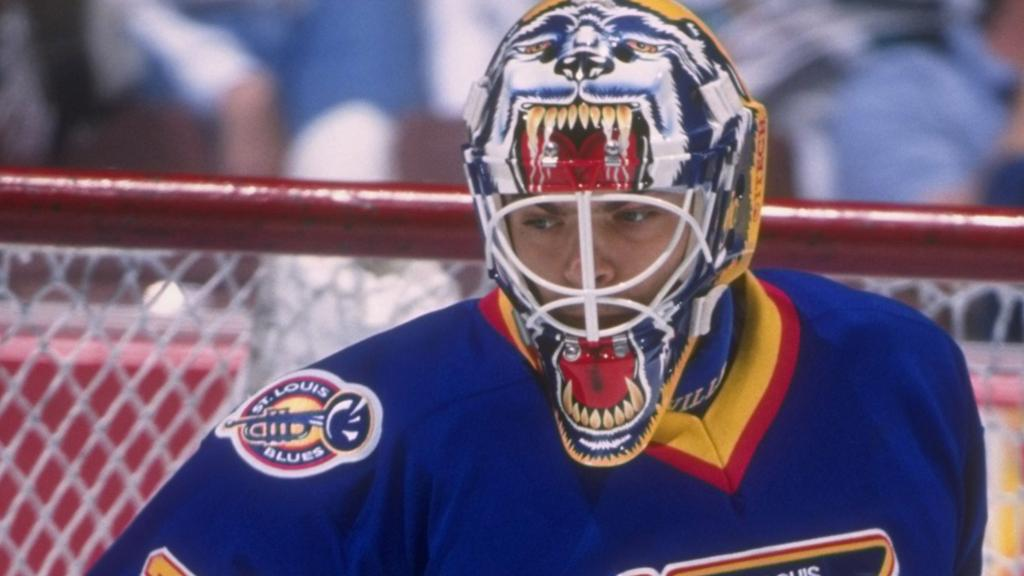 Image result for curtis joseph mask