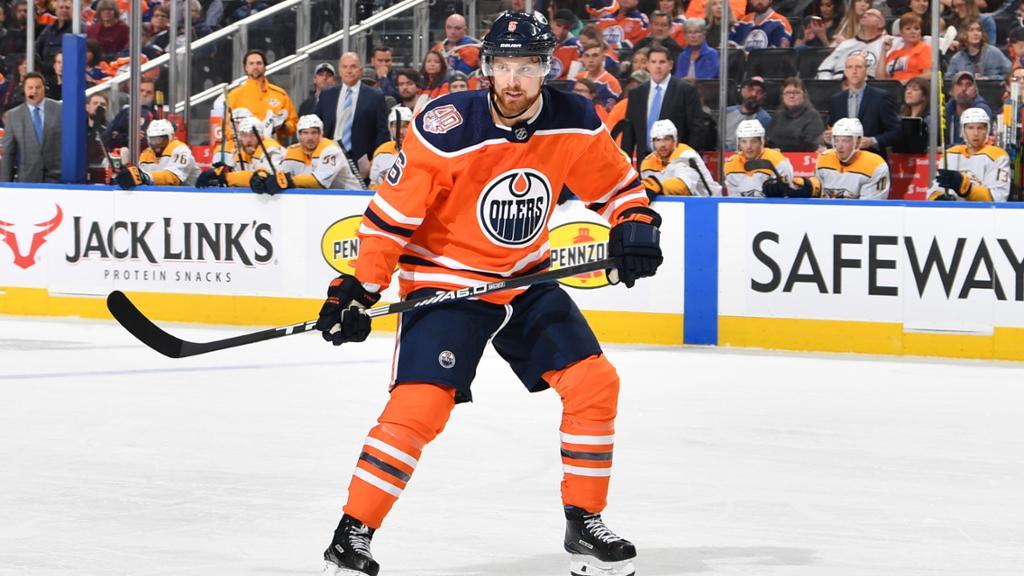 Adam Larsson Edmonton Oilers Player Swingman Jersey