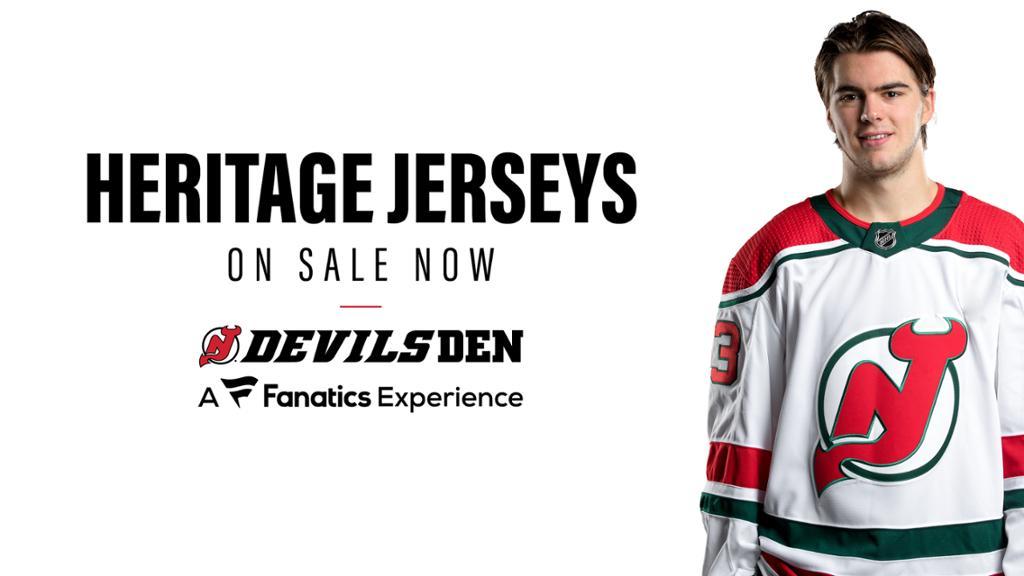 nhl devils jersey