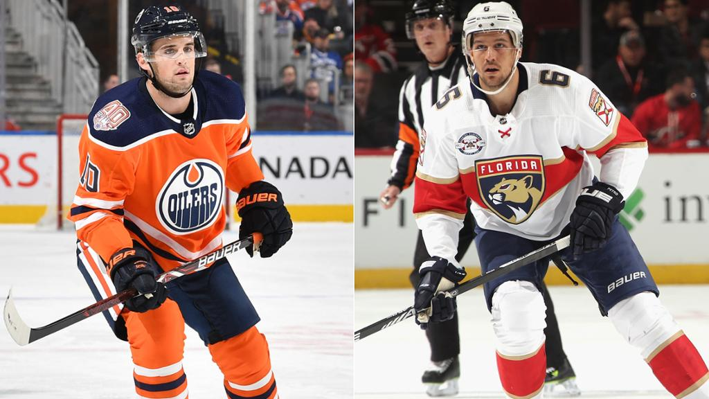 Petrovic traded to Oilers by Panthers for Wideman