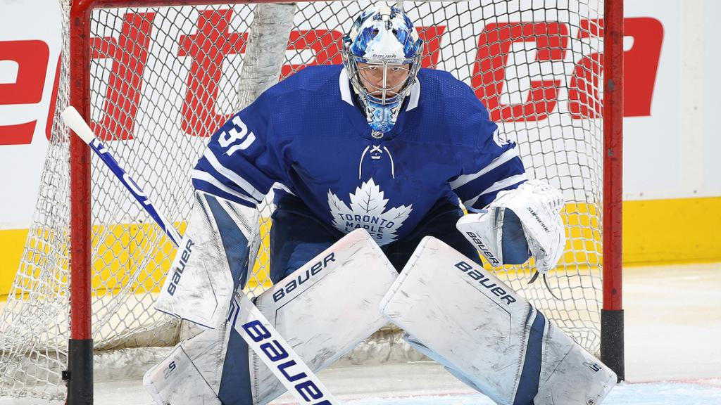 Andersen Placed On Injured Reserve By Maple Leafs