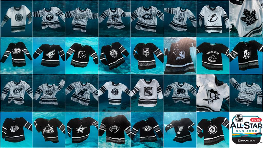 NHL, adidas unveil eco-friendly jerseys for 2019 All-Star Game