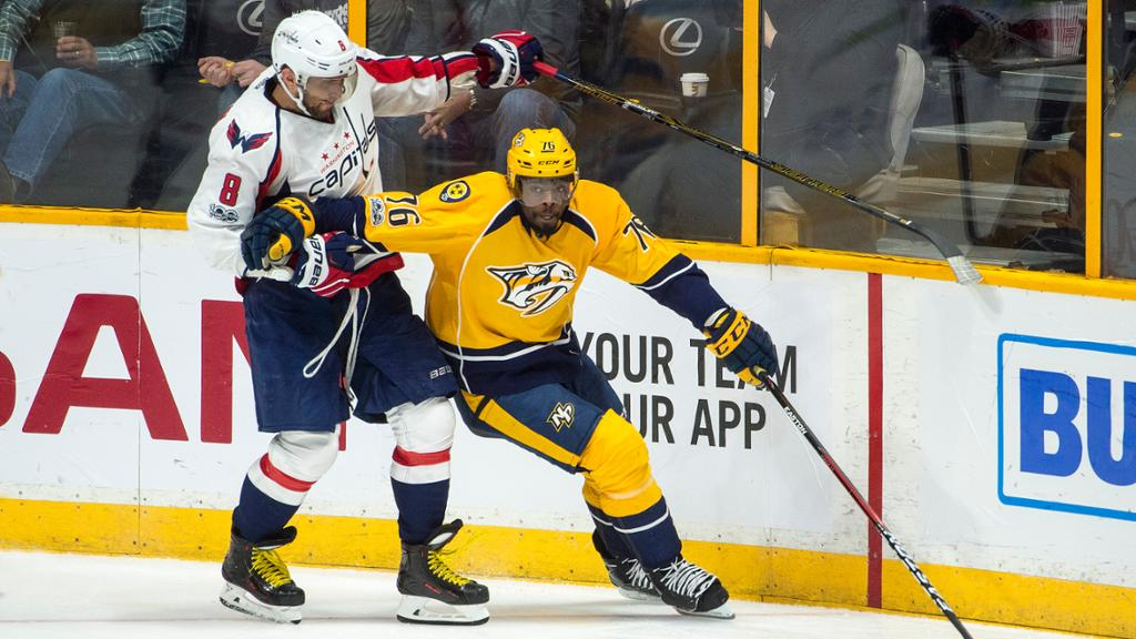 Capitals At Predators Preview