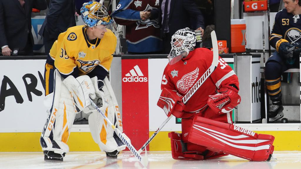 Goalies Increasingly Go To Narrow Stance Upright Posture
