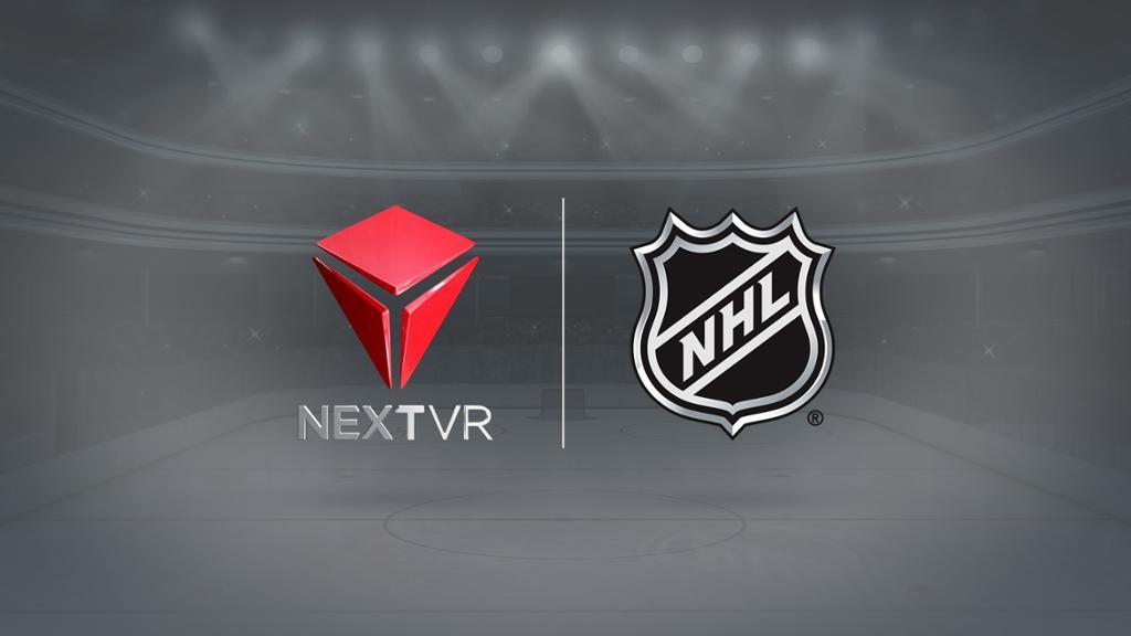 NHL, NextVR partner on unique virtual reality experiences