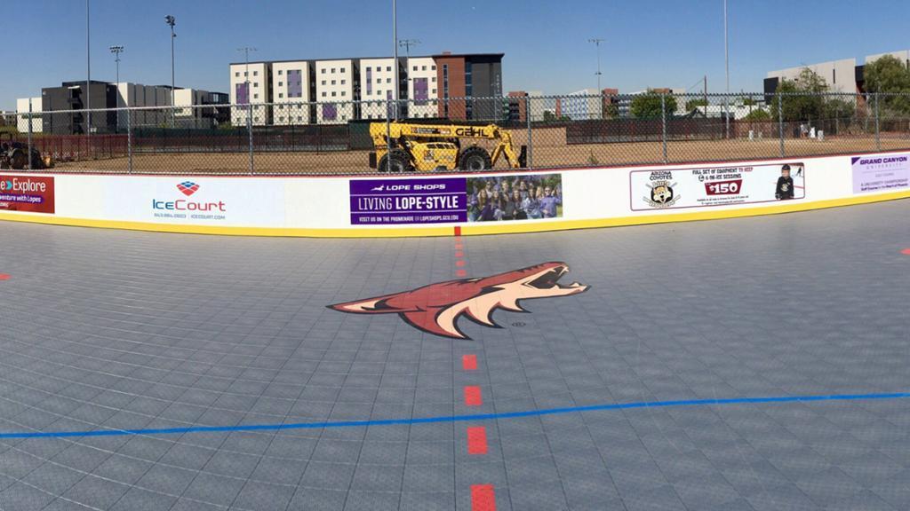 Grand Canyon University Academic Calendar 2021-2022 Coyotes Donate New DEK Hockey Rink at Grand Canyon University