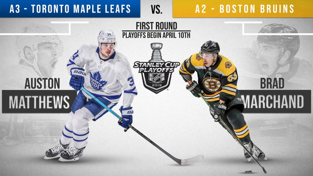 Bruins Will Play Maple Leafs In Eastern Conference First Round