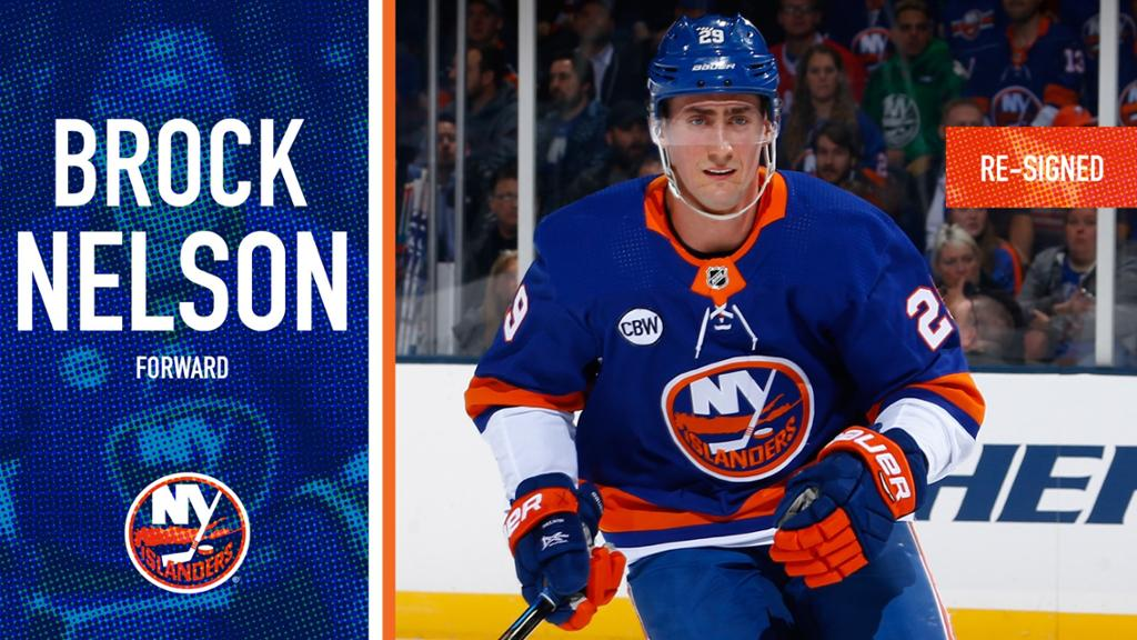 Islanders Agree To Terms With Nelson On Six-Year Contract
