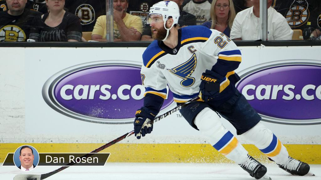 Pietrangelo Inspired By Three Little Angels Leads Blues In Cup Final