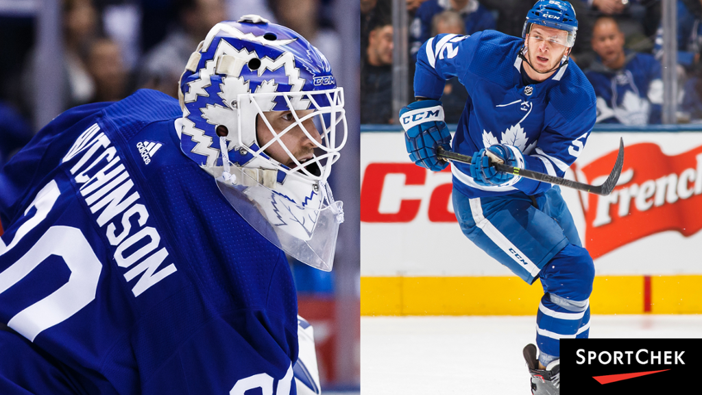 Leafs Sign Michael Hutchinson And Martin Marincin To One Year Contracts