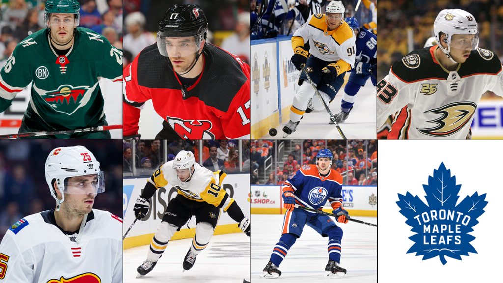 Maple Leafs Announce Free Agent Signings