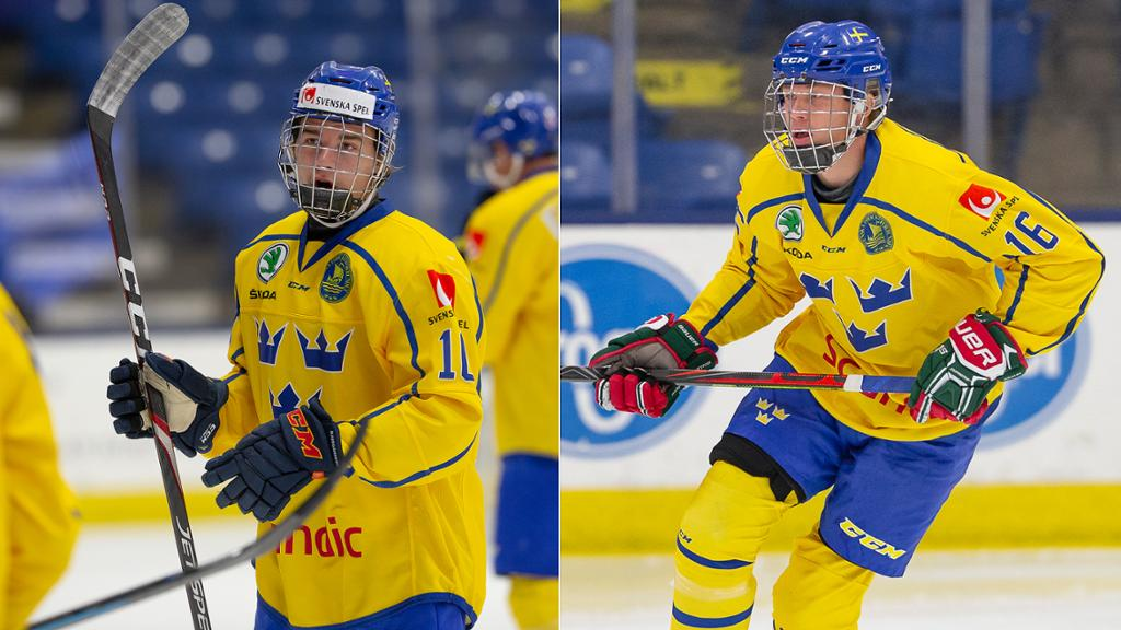 Holtz Raymond Hope To Earn Roles With Sweden At Wjc