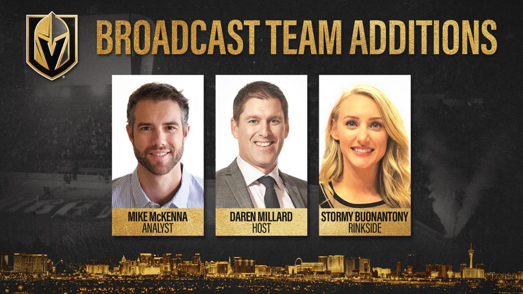Vegas Golden Knights Announce New Additions To Broadcast Lineup