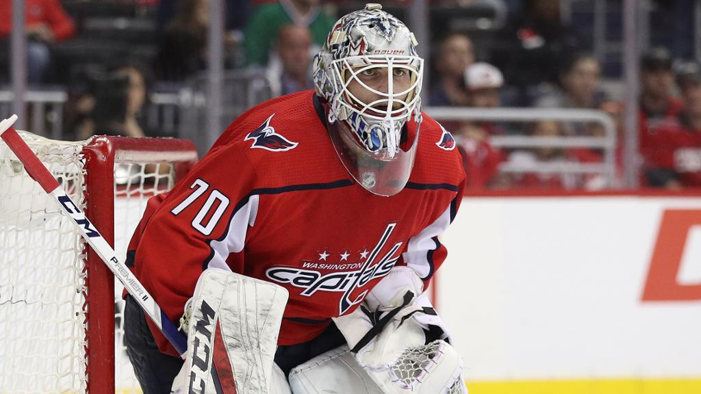Holtby Says He Wants To Re Sign With Capitals Report