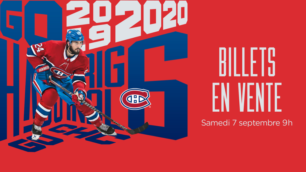 Mise En Vente Samedi Des Billets Des Canadiens Pour La Saison 2019 2020