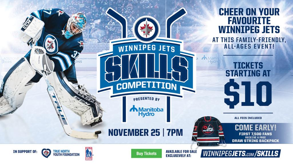 Jets Host Eighth Annual Skills Competition Presented By Manitoba Hydro