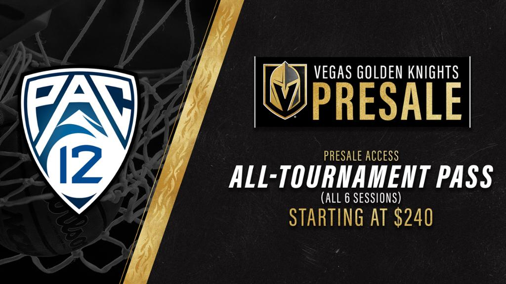 VGK To Promote 2020 PAC-12 Men's Basketball Tournament At T-Mobile ...