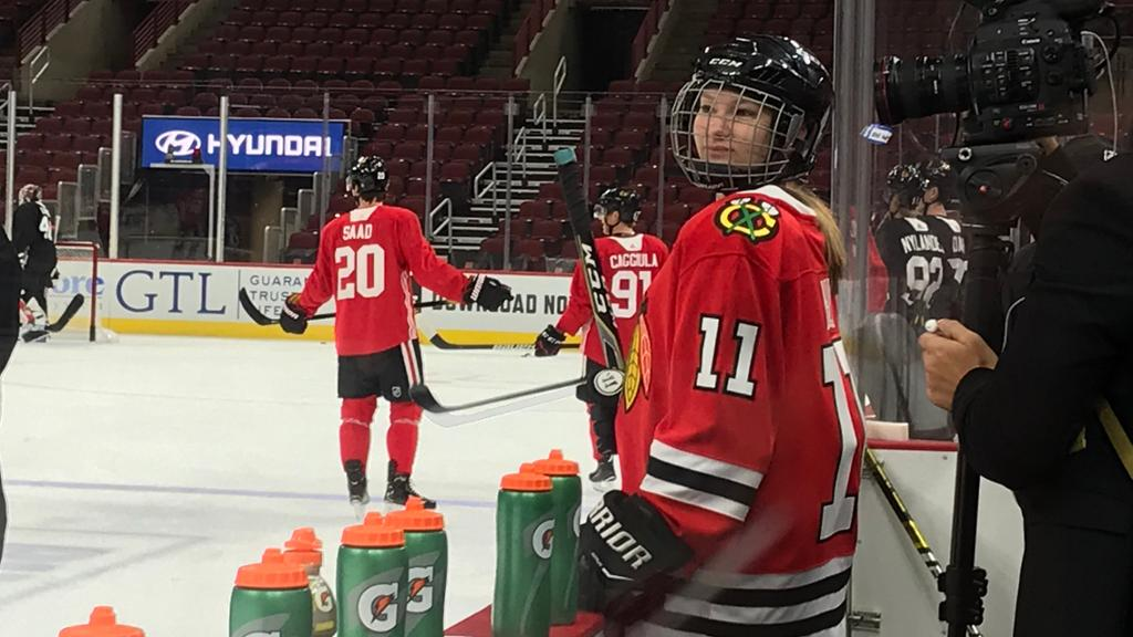 Blackhawks Grant Wish For 14 Year Old With Cystic Fibrosis