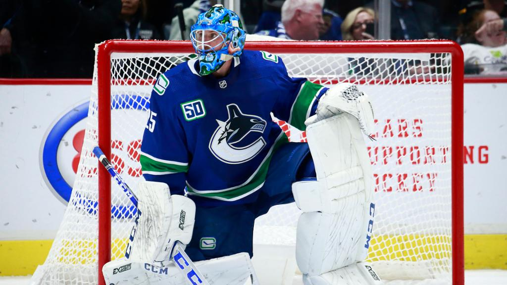 Markstrom Granted Leave Of Absence From Canucks