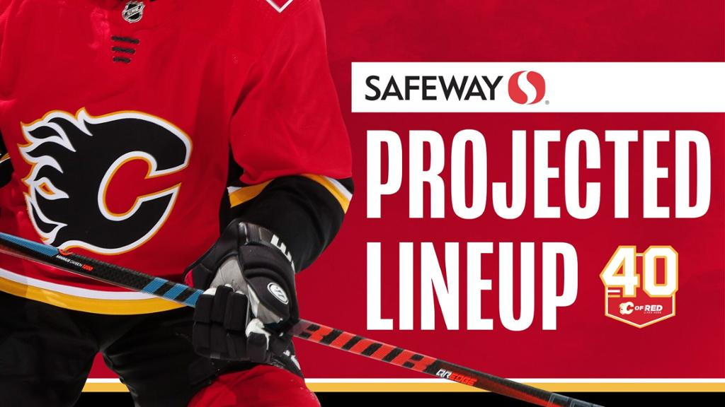 Projected Lineup Flames Vs Maple Leafs