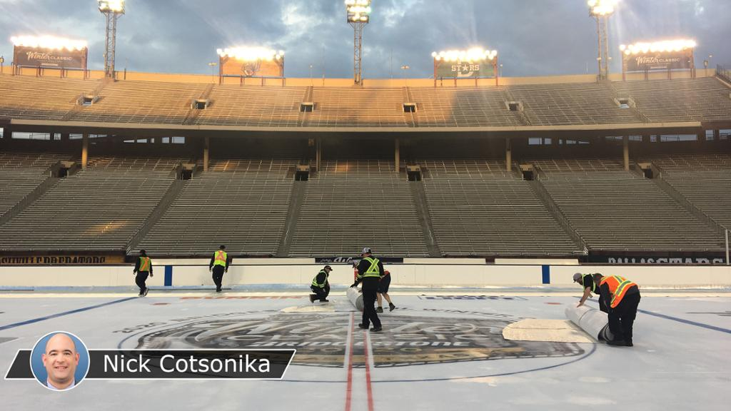 Winter Classic Ice Crew Unsung Heroes Of Nhl Outdoor Event
