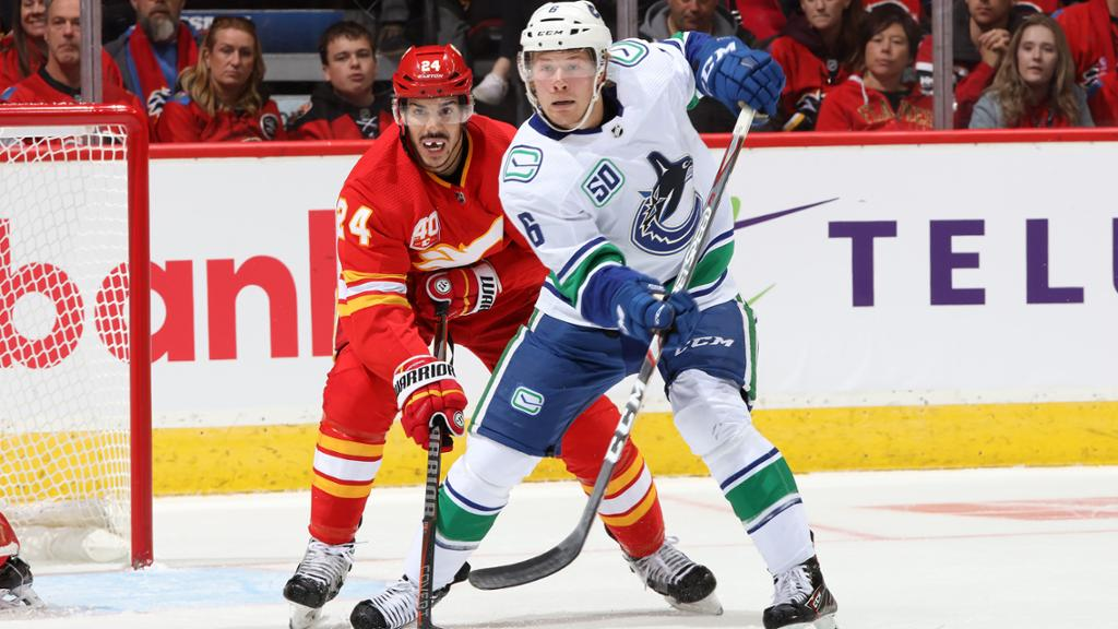 Canucks At Flames Preview