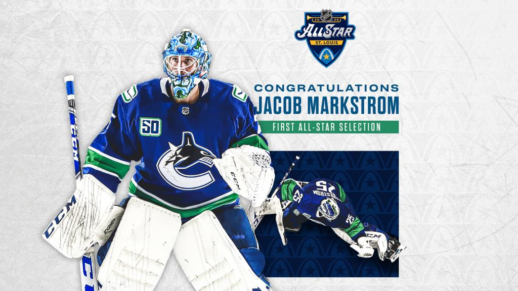 Markstrom Added To 2020 All Star Game