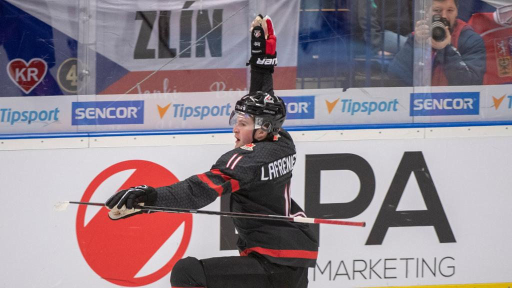 Lafreniere Powers Canada Into Final At World Junior Championship
