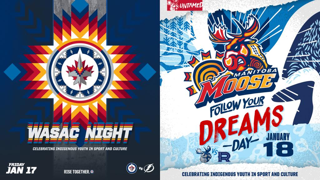 Jets Moose Announce 2nd Annual Wasac Night Follow Your Dreams Day