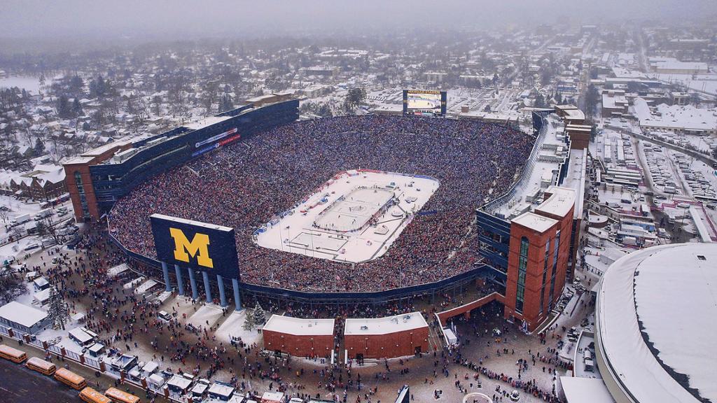 Event of the Decade: 2014 Winter Classic at Michigan Stadium
