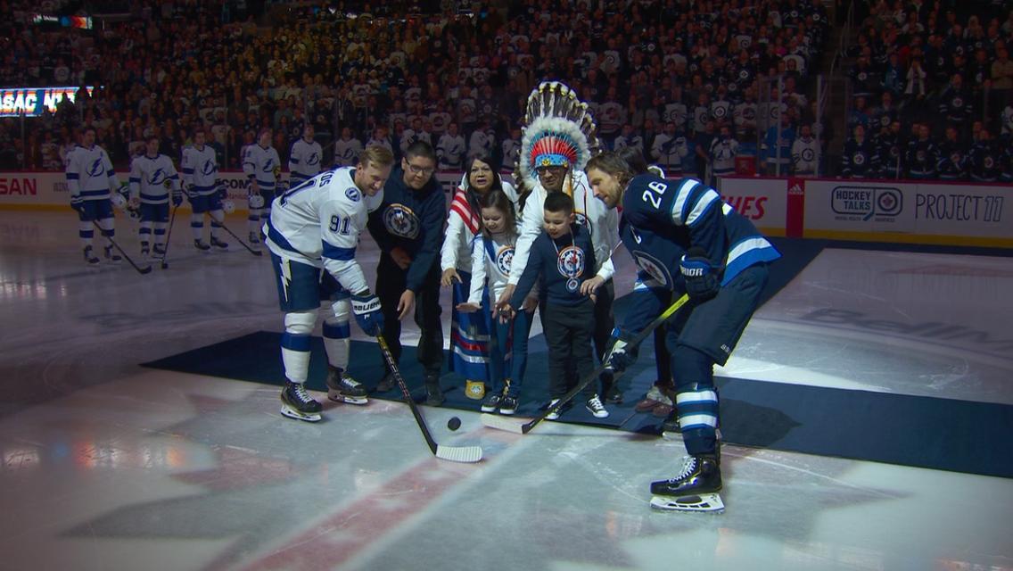 Jets Celebrate Indigenous Culture Nhl Com