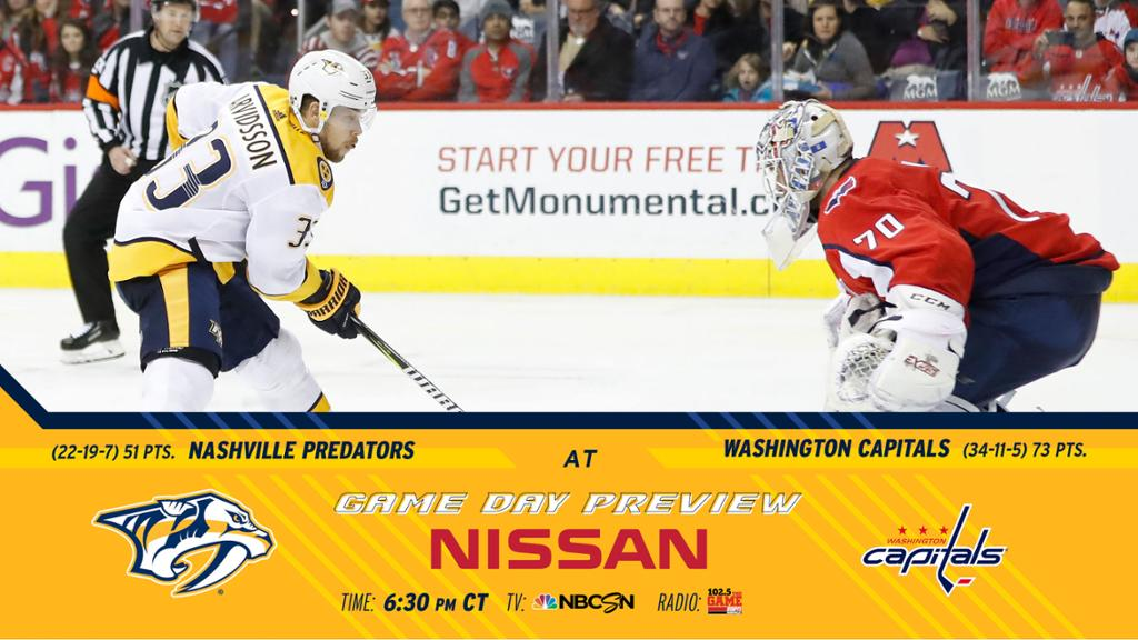 How To Watch Live Stream Preds At Capitals
