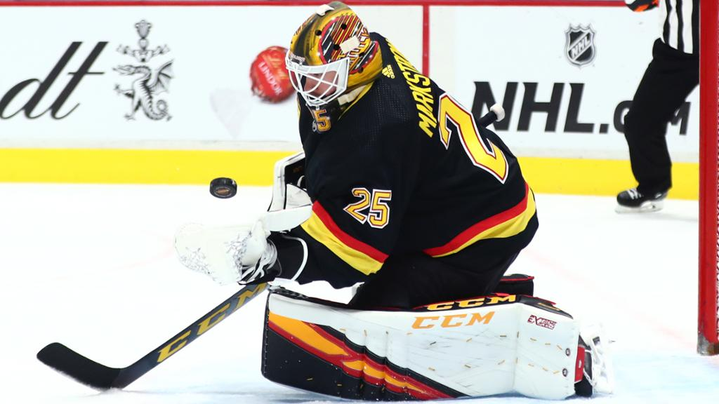 Markstrom Injured Canucks Get Domingue In Trade From Devils