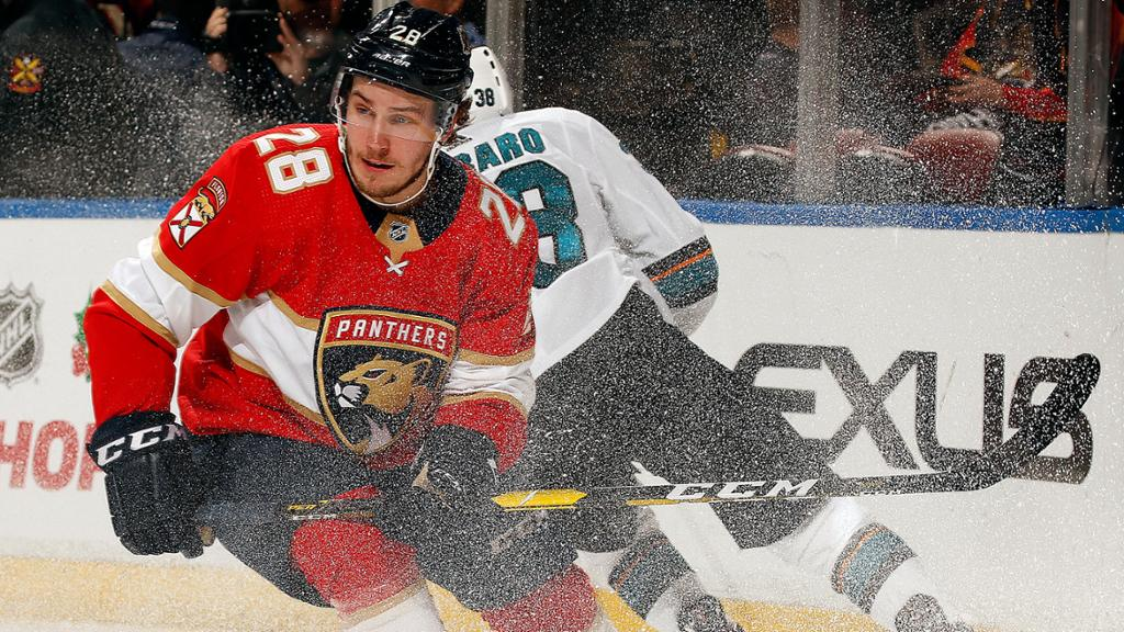 Florida Panthers Recall Forward Aleksi Saarela from Springfield (AHL)