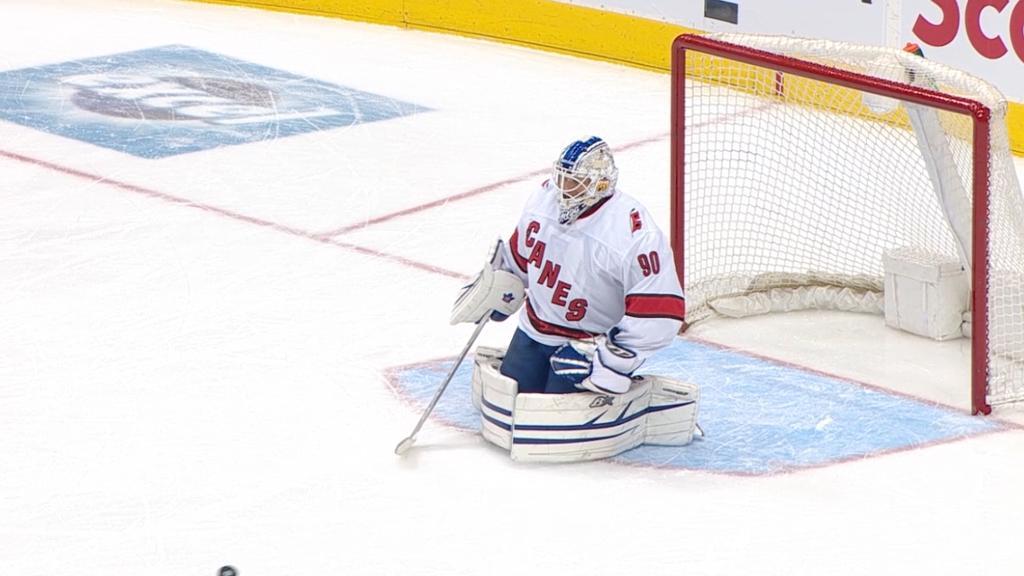 Hurricanes Use Emergency Backup Goalie Against Maple Leafs