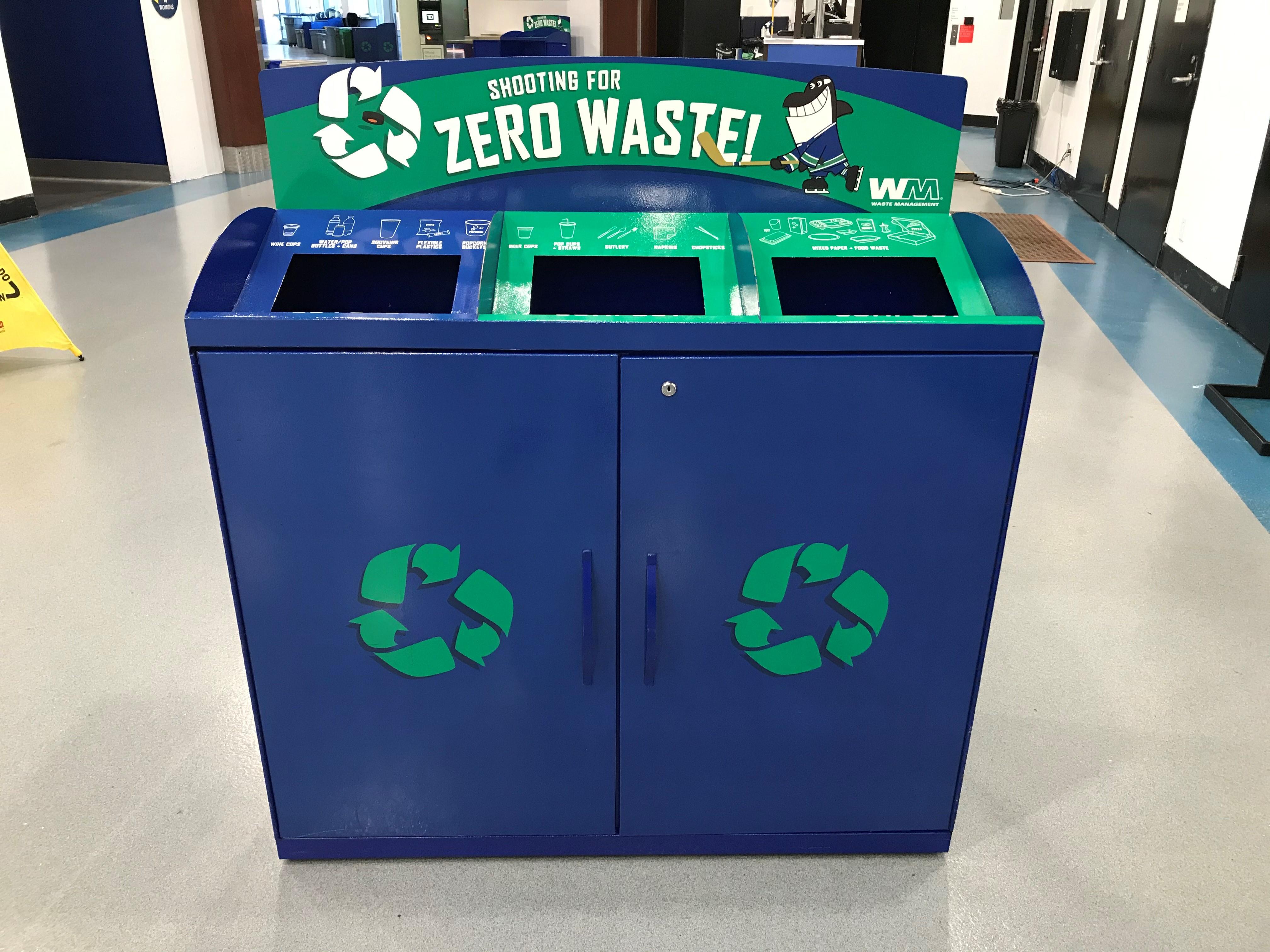 zero waste recycle bin