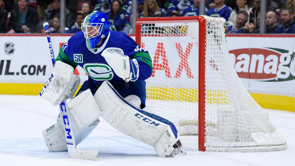 Markstrom Canucks Hold Off On Contract Talks During Pause