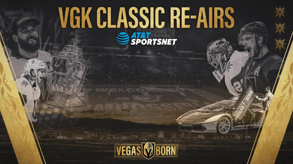 At T Sportsnet Updates Tv Schedule With Continuation Of Vgk Classic Games