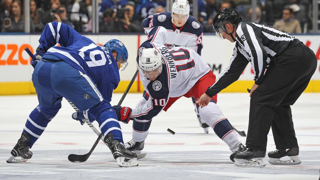 An Early Look At Blue Jackets Vs Maple Leafs