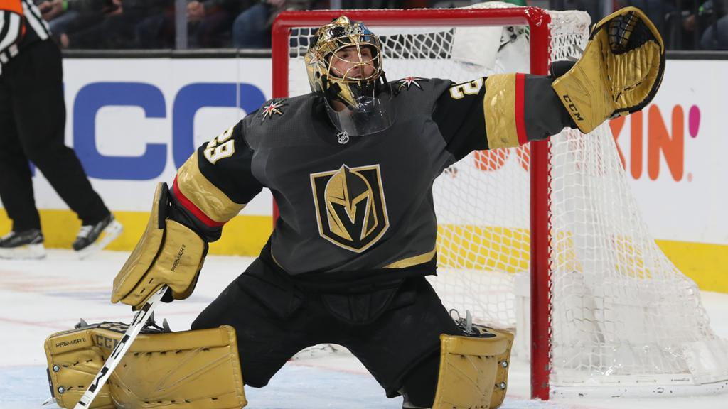 Fleury staying with Golden Knights after Lehner signs five-year contract