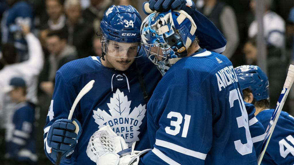 Andersen To Remain Maple Leafs Starting Goalie Next Season Gm Says