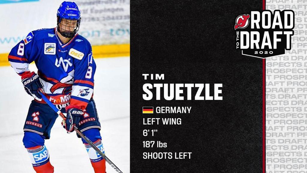 Draft Tim Stuetzle Profile