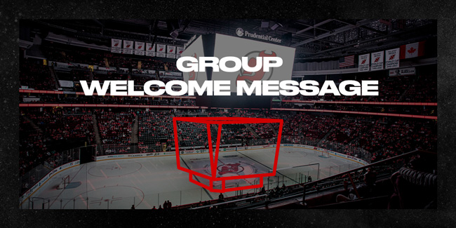 Group Welcome Message