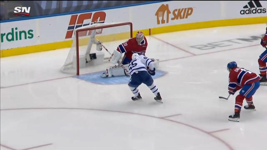 Maple Leafs Defeat Canadiens In Exhibition Game In Nhl Return