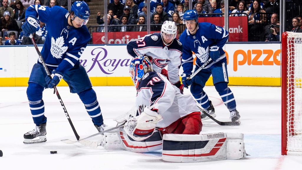 3 Keys Blue Jackets Vs Maple Leafs Game 1 Of Cup Qualifiers