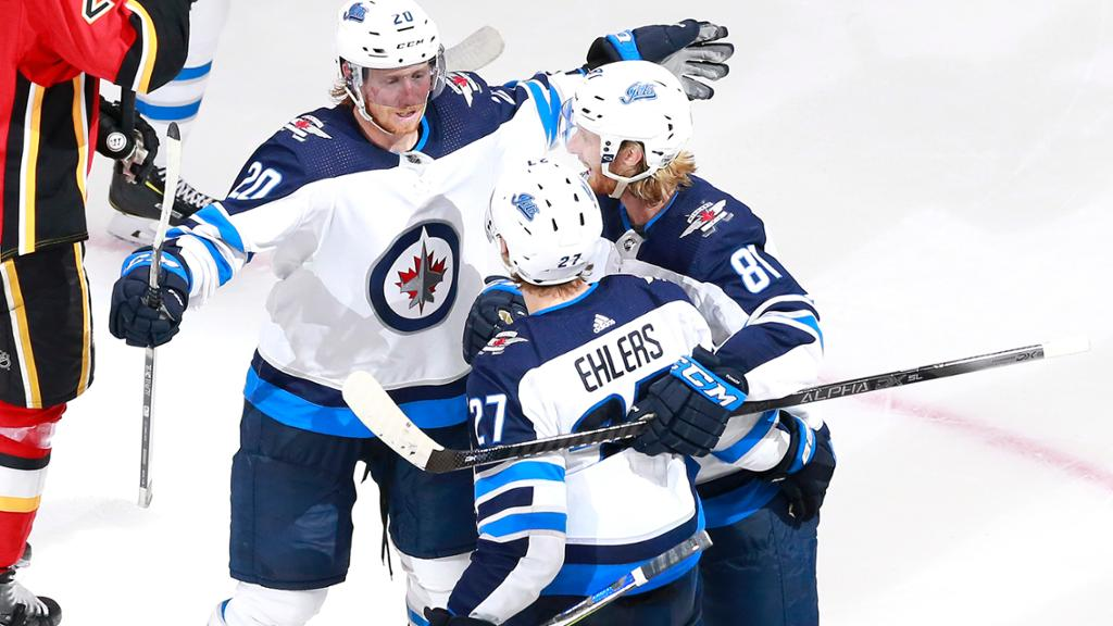 Ehlers Scores First Postseason Goal To Push Jets Past Flames