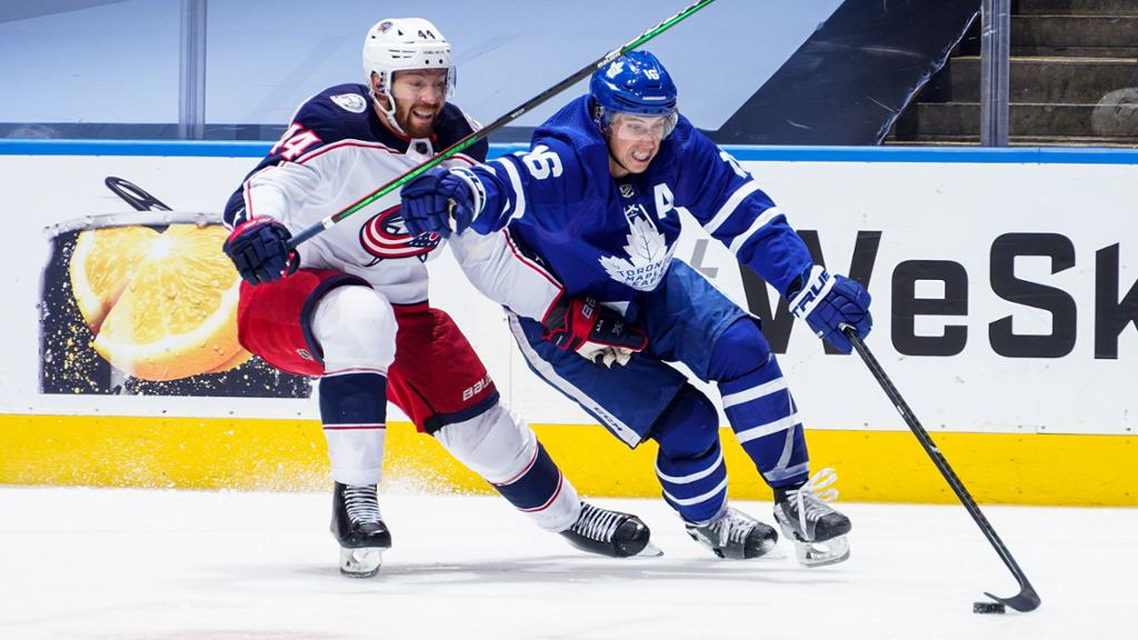 3 Keys Blue Jackets Vs Maple Leafs Game 5 Of Cup Qualifiers