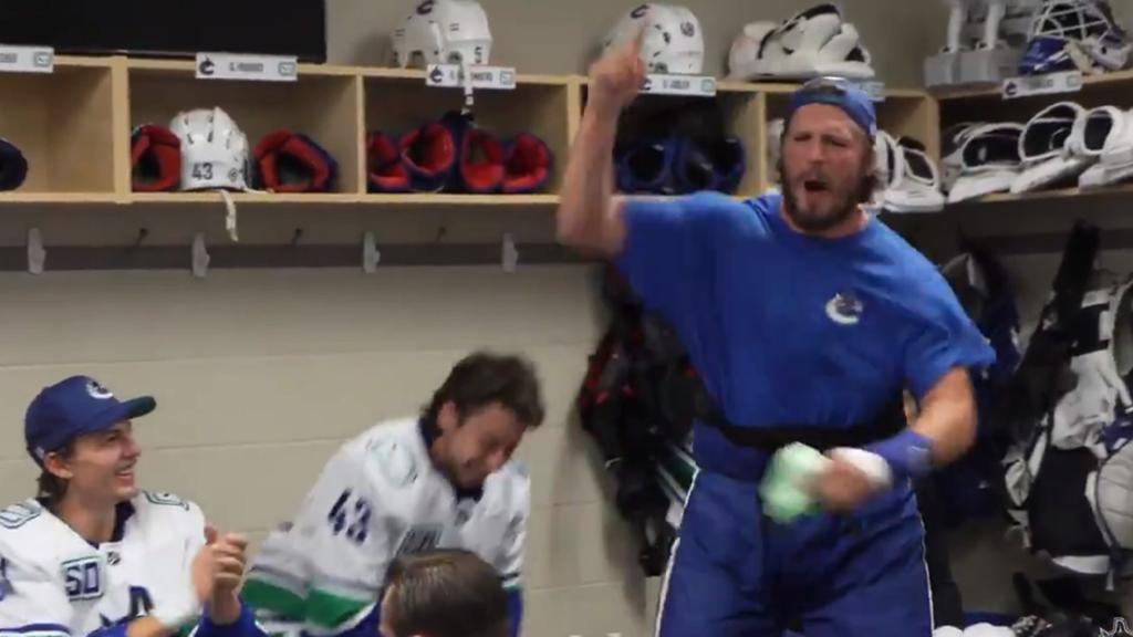 Fired Up Miller Gives Passionate Reading Of Canucks Starting Lineup