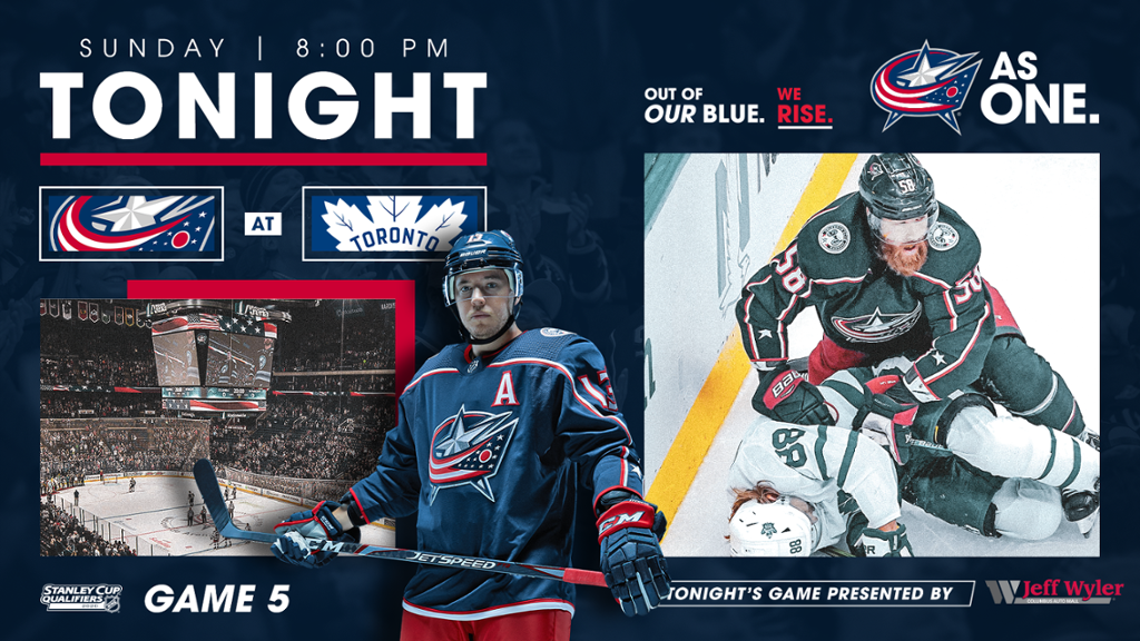 Game 5 Preview It S All On The Line For Blue Jackets Maple Leafs