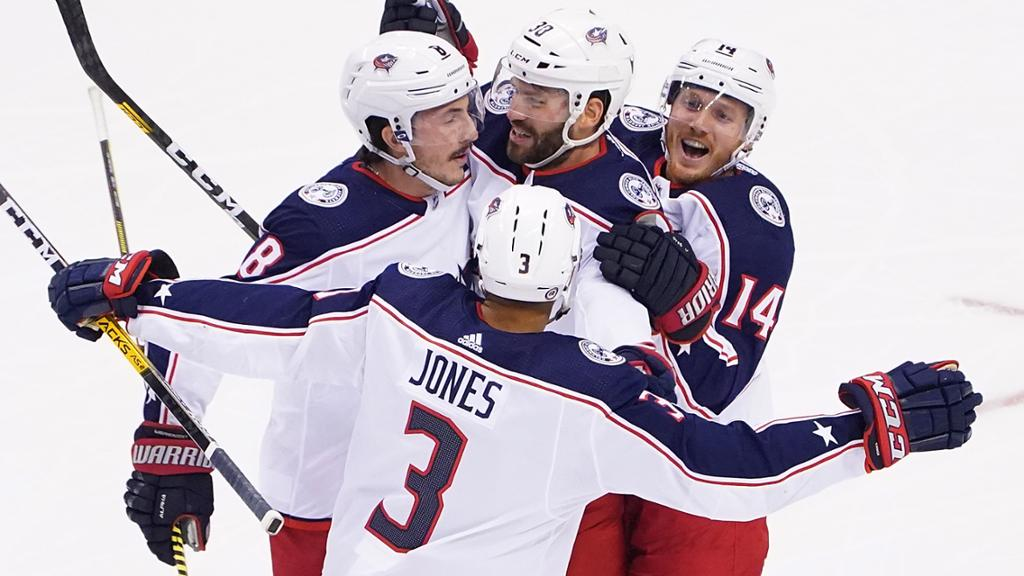 Game 5 Final Blue Jackets 3 Maple Leafs 0